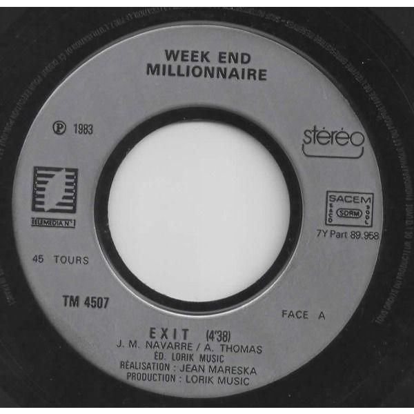 week end millionnaire exit