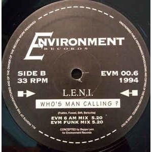 L.E.N.I. Who's man calling?