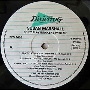 SUSAN MARSHALL DON'T PLAY INNOCENT WITH ME