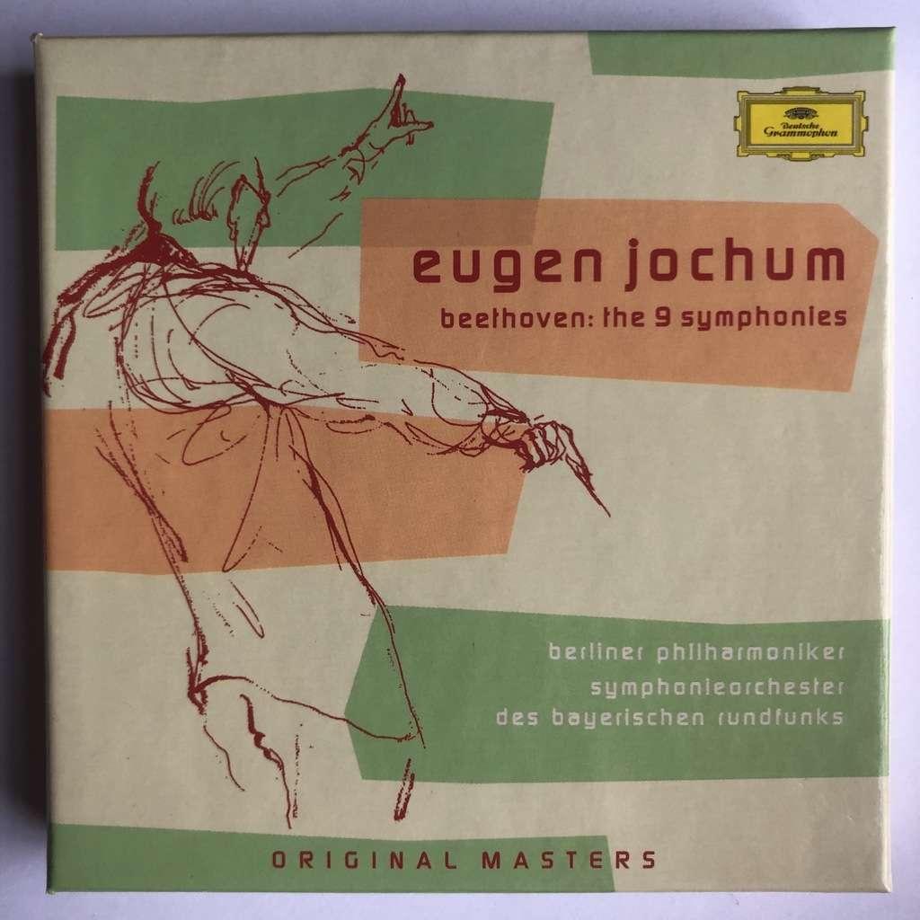 Beethoven / Eugen Jochum 9 symphonies (5 CD) original masters edition