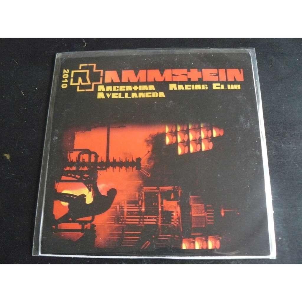 rammstein Argentina racing club 2010