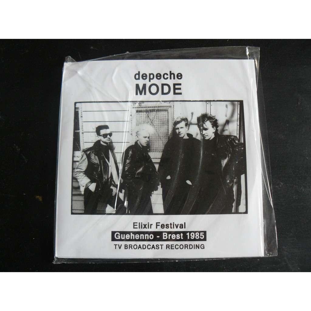 depeche mode Guehenno Brest 1985