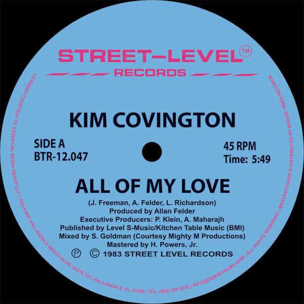 KIM COVINGTON All of my love