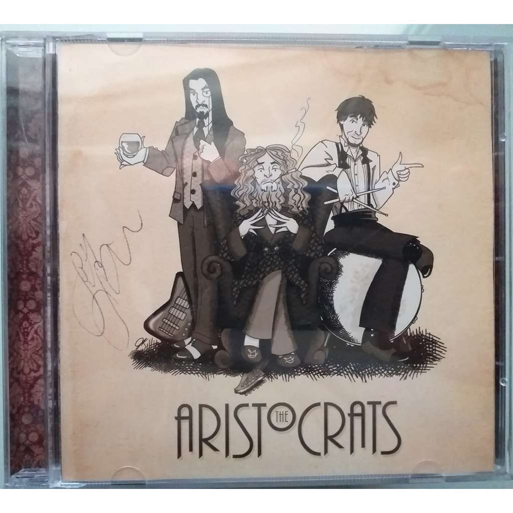 aristocrats the aristocrats - signed by guthrie govan and band