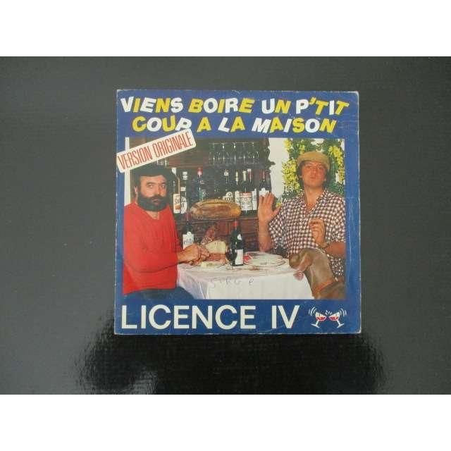 licence IV viens boire un p'tit coup à la maison