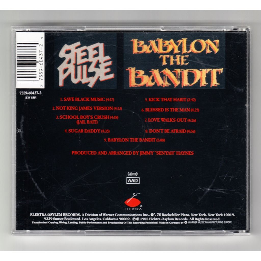 Steel Pulse Babylon The Bandit