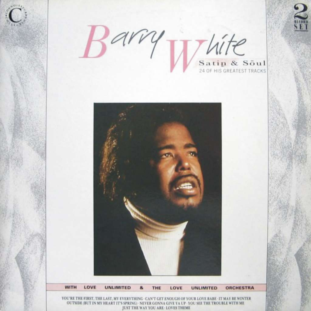 BARRY WHITE SATIN & SOUL