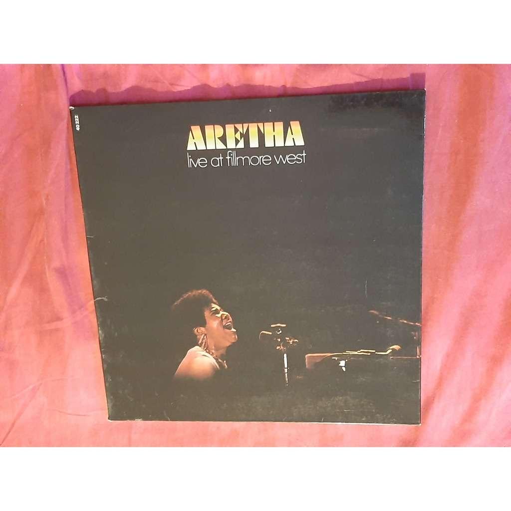 aretha franklin LIVE AT FILLMORE WEST