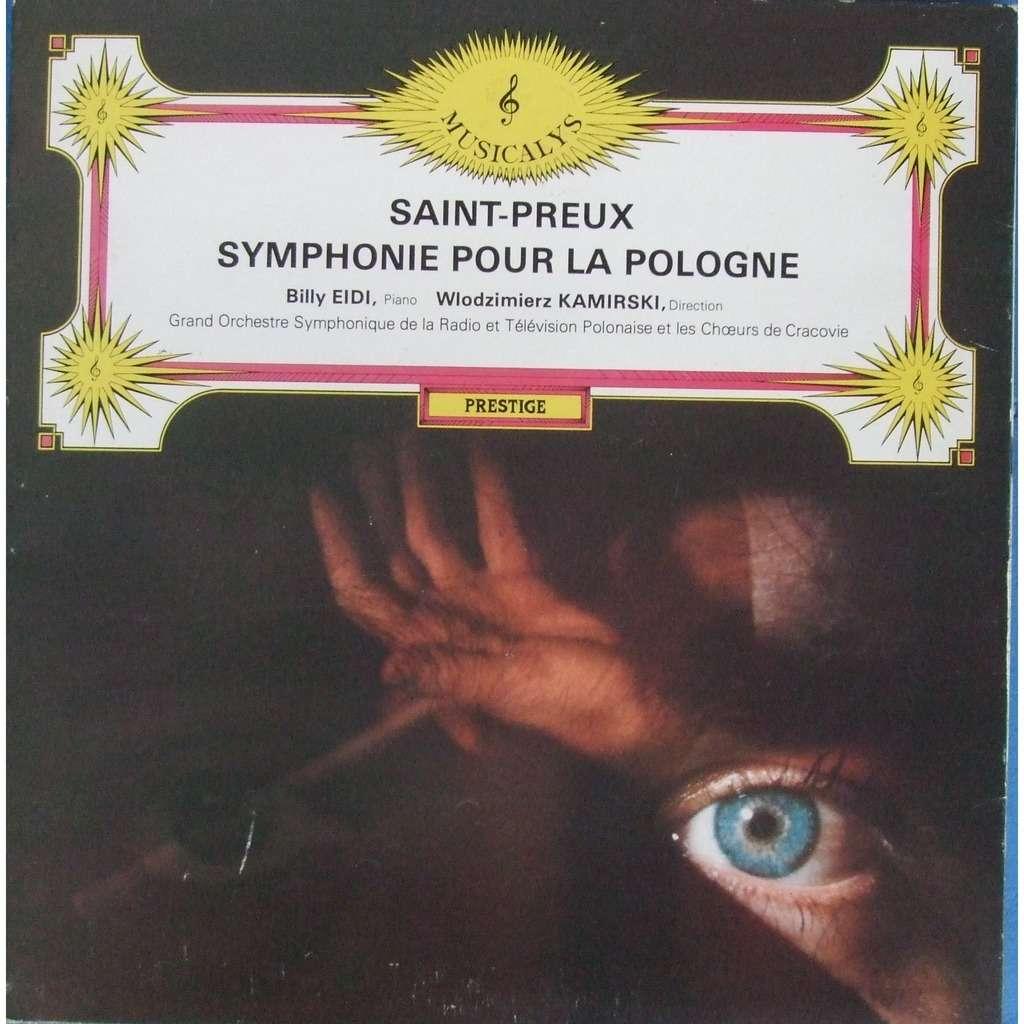 SAINT PREUX SYMPHONIE POUR LA POLOGNE.France ( Pochette Ouvrante )