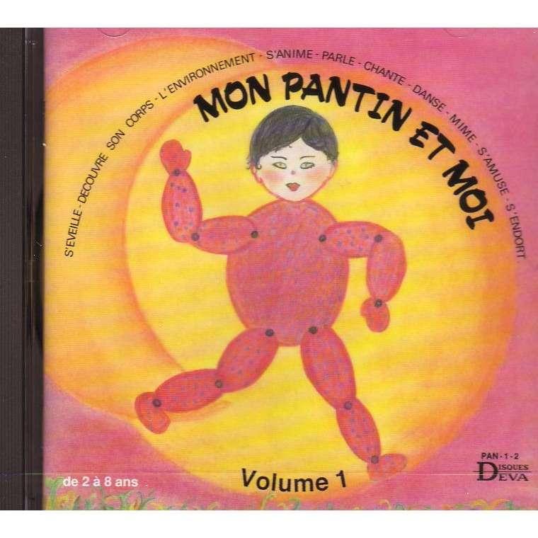 Marie-claude Clerval Mon pantin et moi volume -1