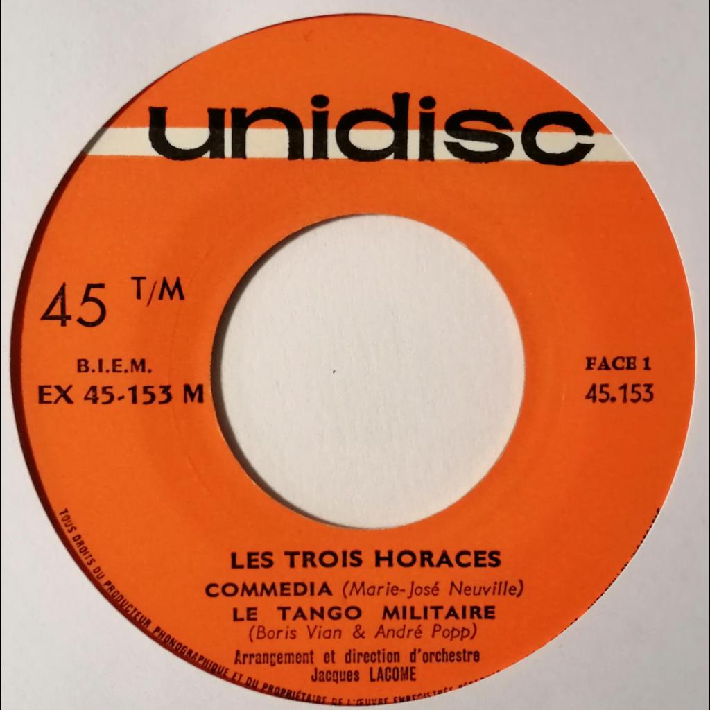 Les 3 Horaces Commedia +3