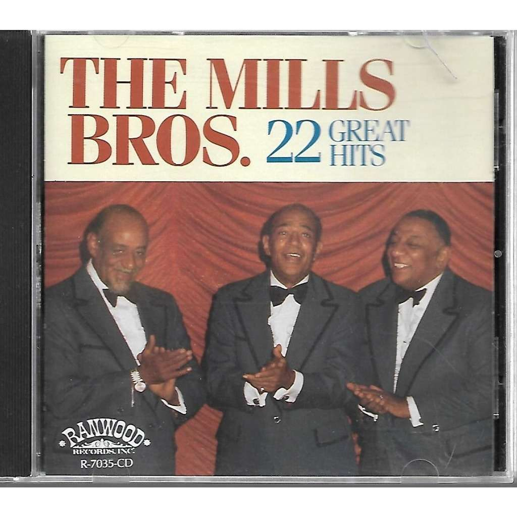 The Mills Bros. 22 Great Hits Label
