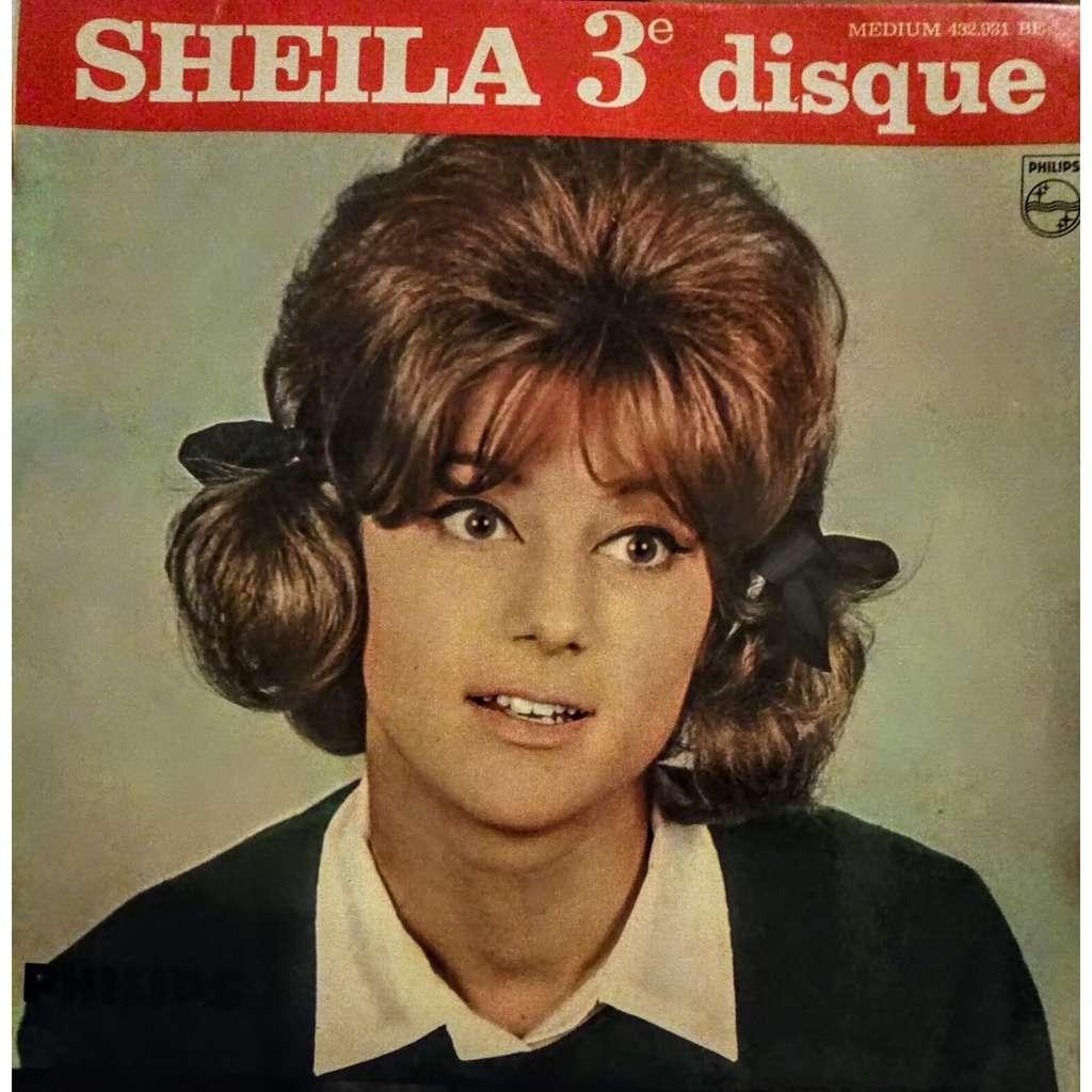 SHEILA (+ Photo Dédicacée) PENDANT LES VACANCES - LA VIE EST BELLE - PREMIERE SURPRISE-PARTIE - VIENS DANSER LE HULLY-GULLY