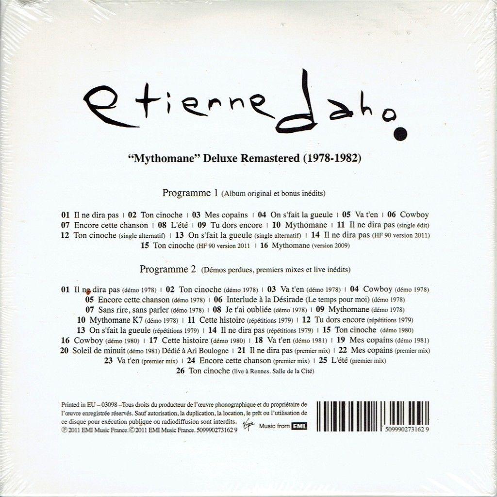 etienne daho Mythomane - Delux Remastered