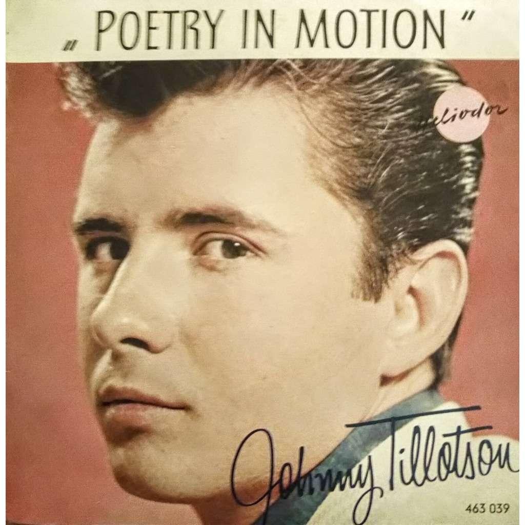 Johnny Tillotson POETRY IN MOTION / I GOT A FEELING