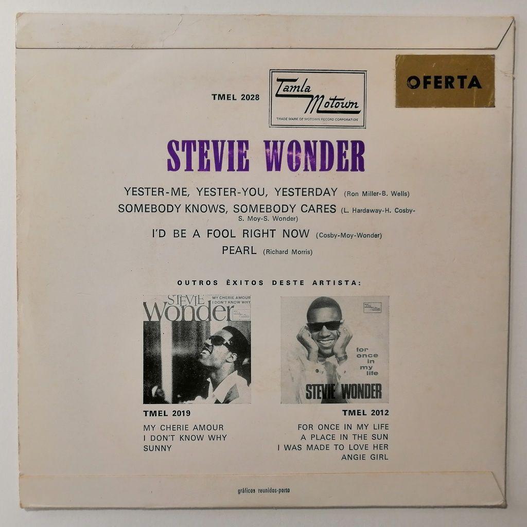 Stevie Wonder Yester-Me,Yester-You,Yesterday (motown)