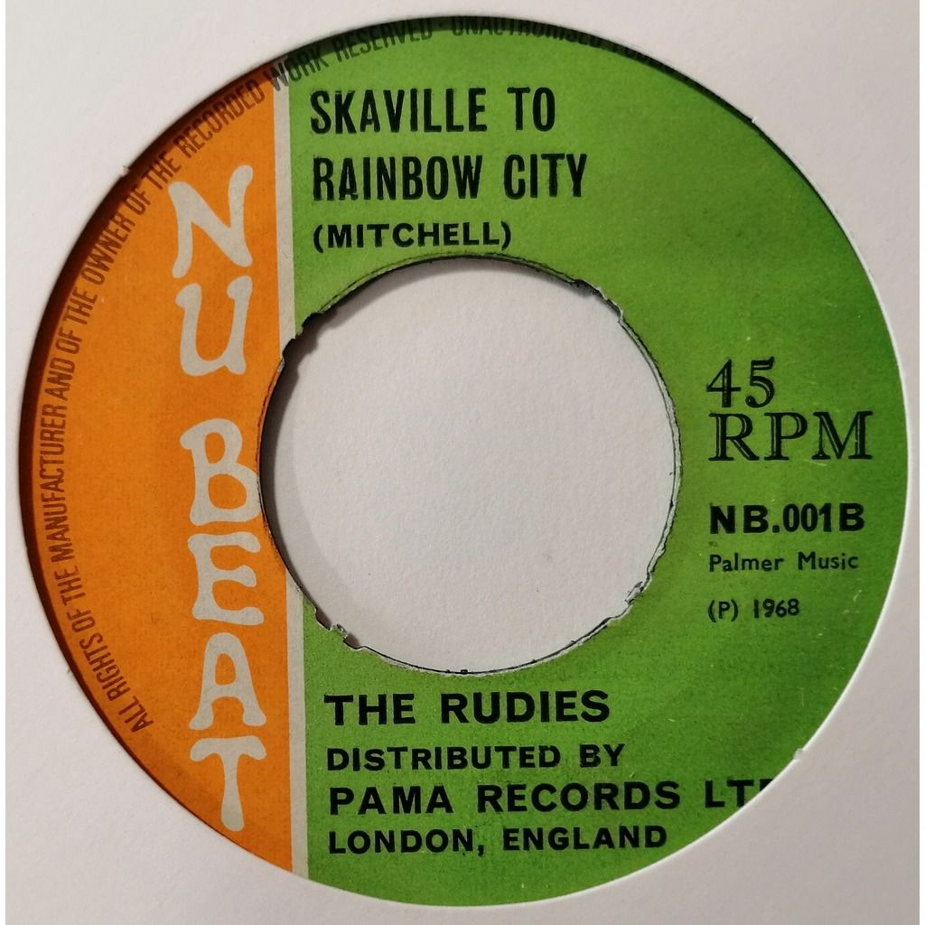 The Rudies Train To Vietnam (Rocksteady)