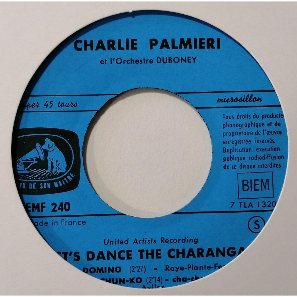 Charlie Palmieri Let's Dance The Charanga!