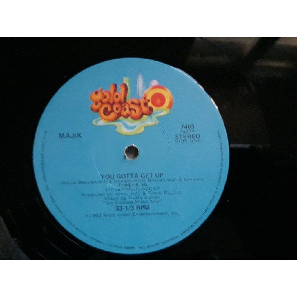 Majik - You Gotta Get Up (12, Ltd) Majik - You Gotta Get Up (12, Ltd)