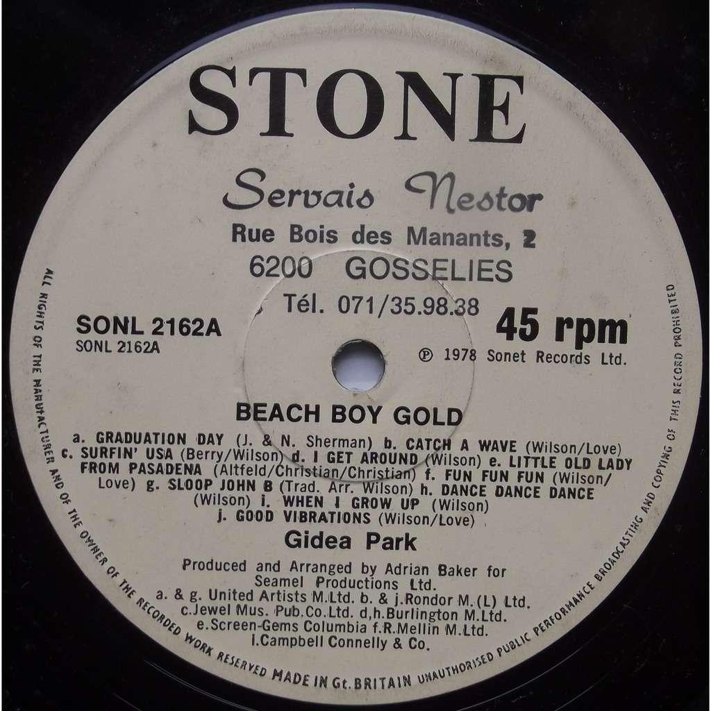 Gidea park beach boy gold