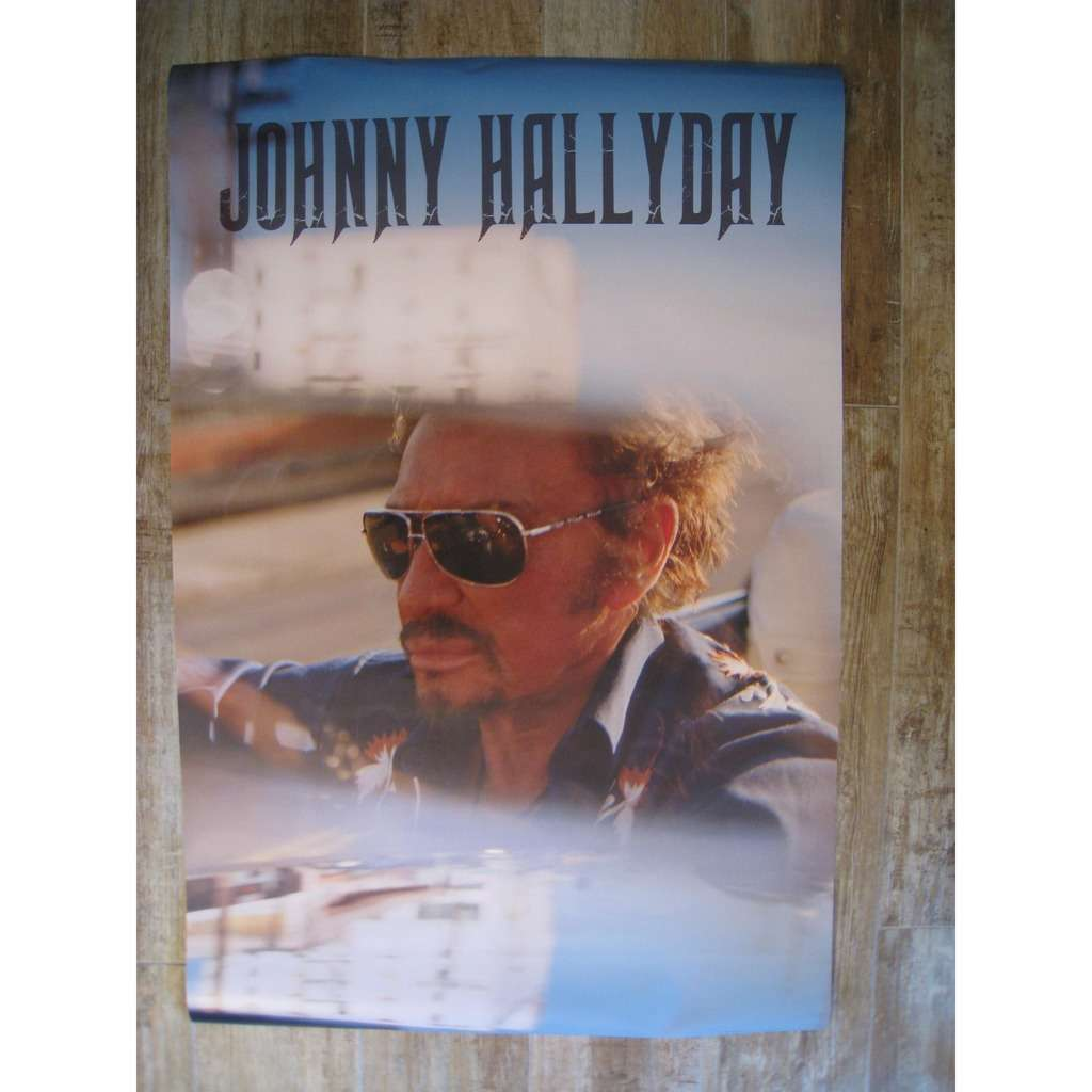johnny hallyday Poster