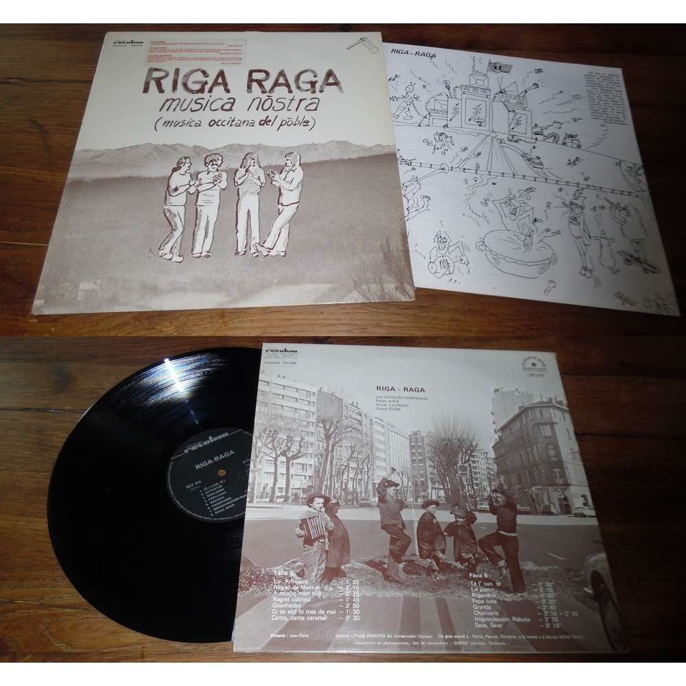 Riga Raga Musica Nòstra (Musica Occitana Del Poble) (With Insert)