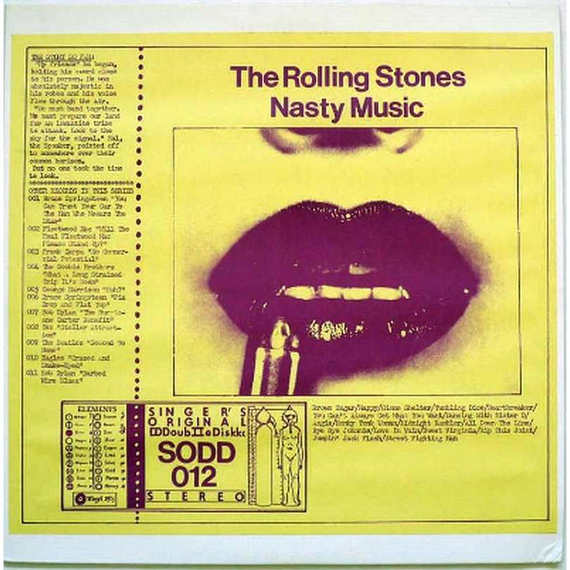 THE ROLLING STONES Nasty Music