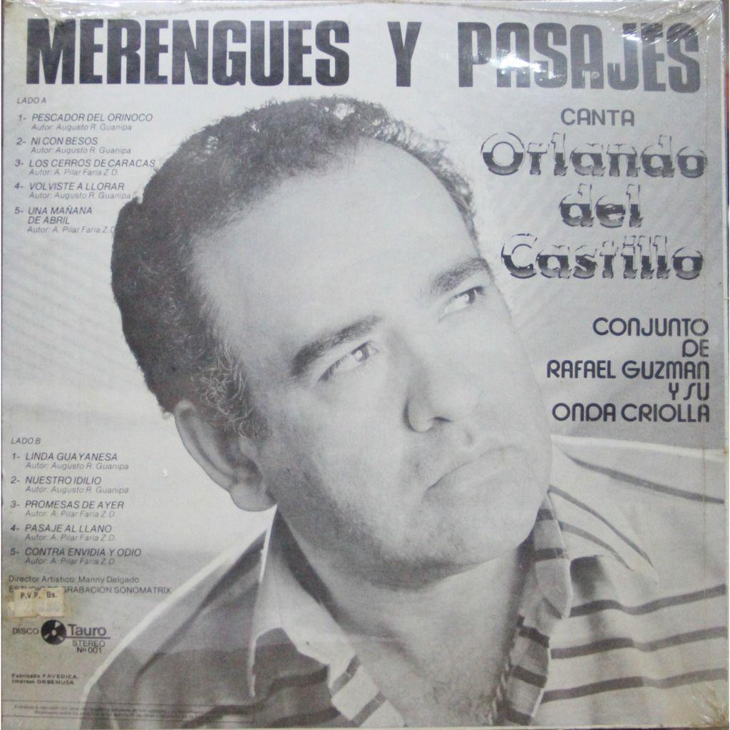 Orlando del Castillo Merengues y pasajes