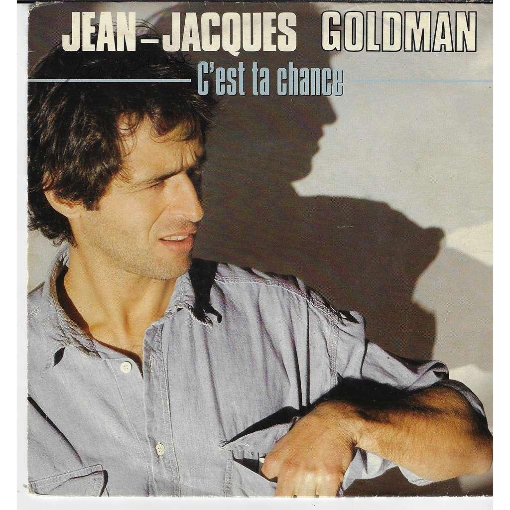 jean jacques goldman c'est ta chance / doux