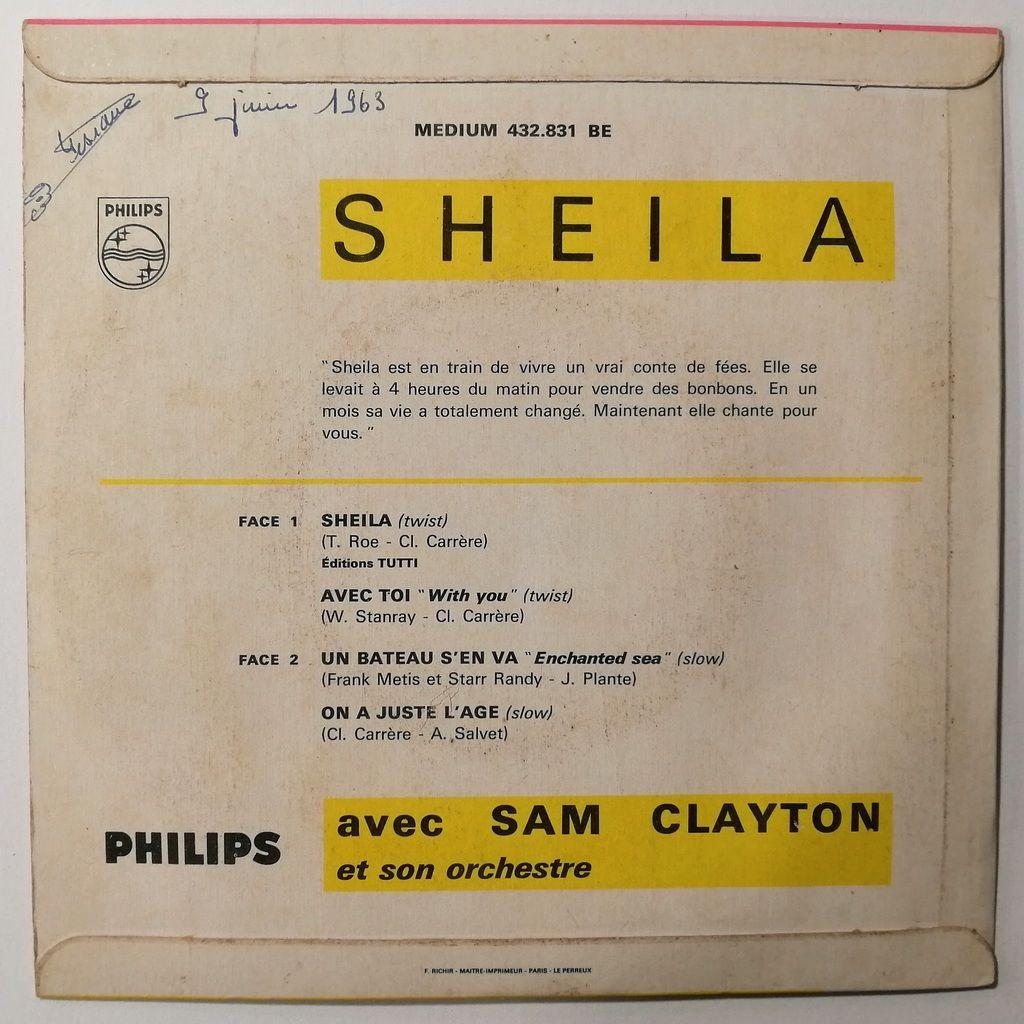 Sheila 1er Ep Avec Photo