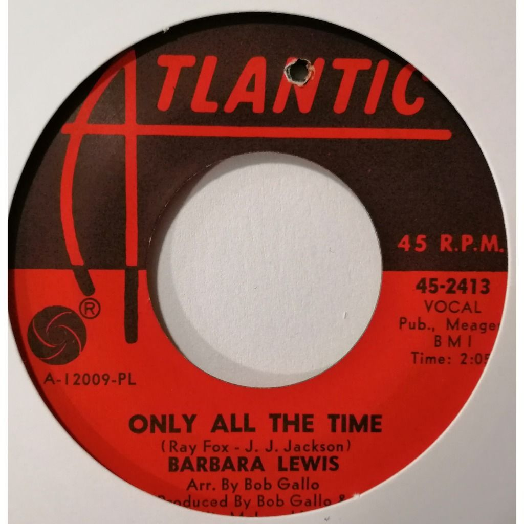 Barbara Lewis Only All The Time (soul)