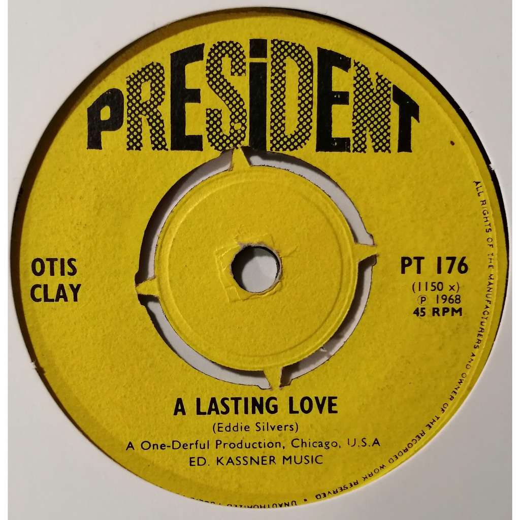 Otis Clay A Lasting Love (northern soul)