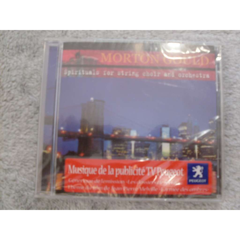 morton gould Spirituals for string choir and orchestra