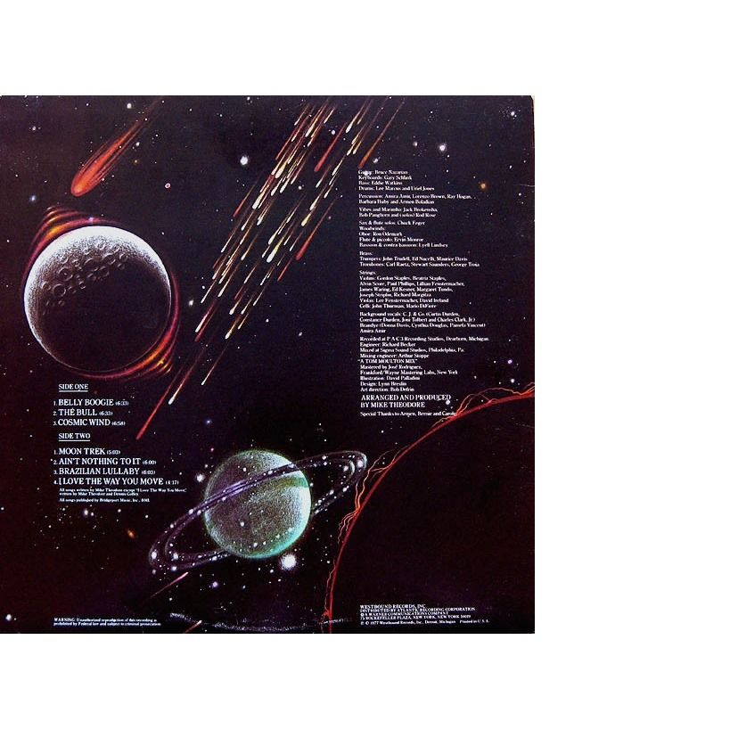 The Mike Theodore Orchestra COSMIC WIND