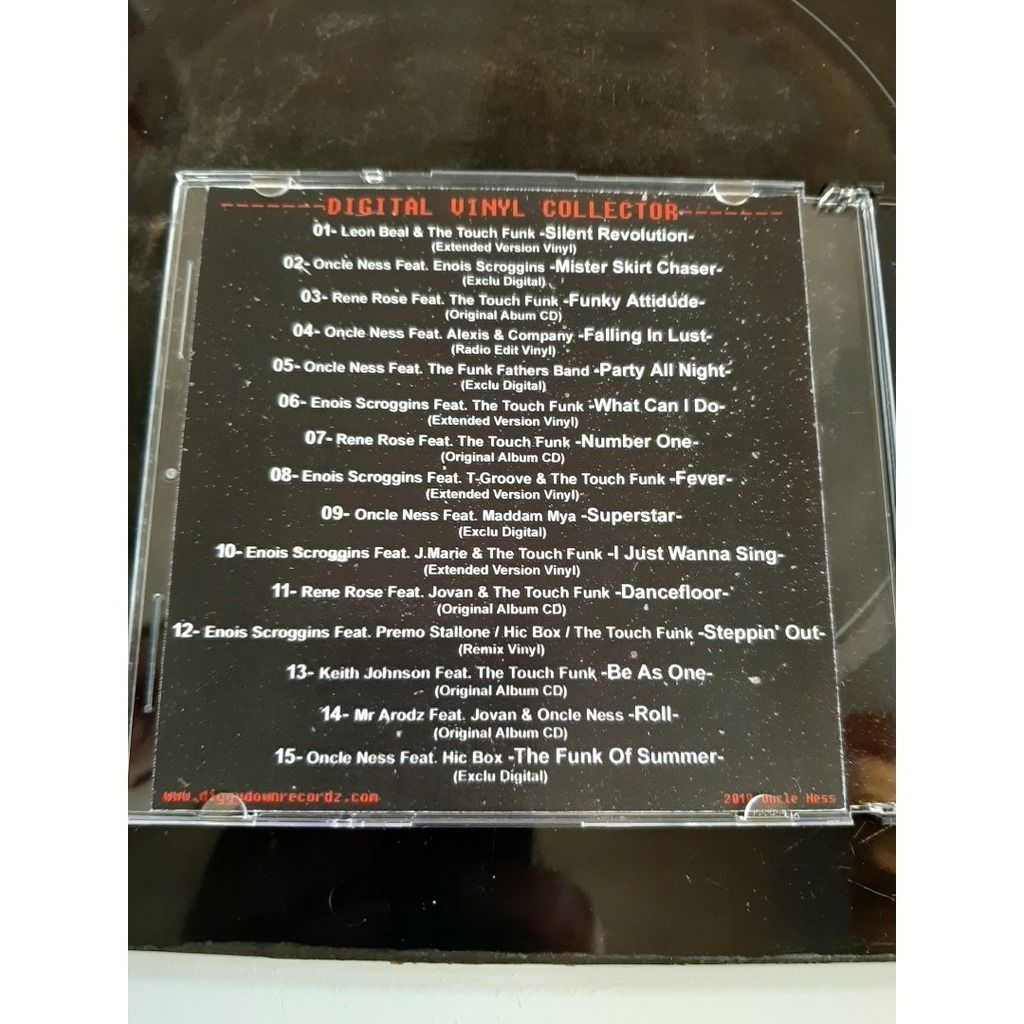 oncle ness & the touch funk collector series (best of )