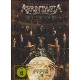 avantasia The Flying Opera - Around The World (Coffret De 4 Dvd)