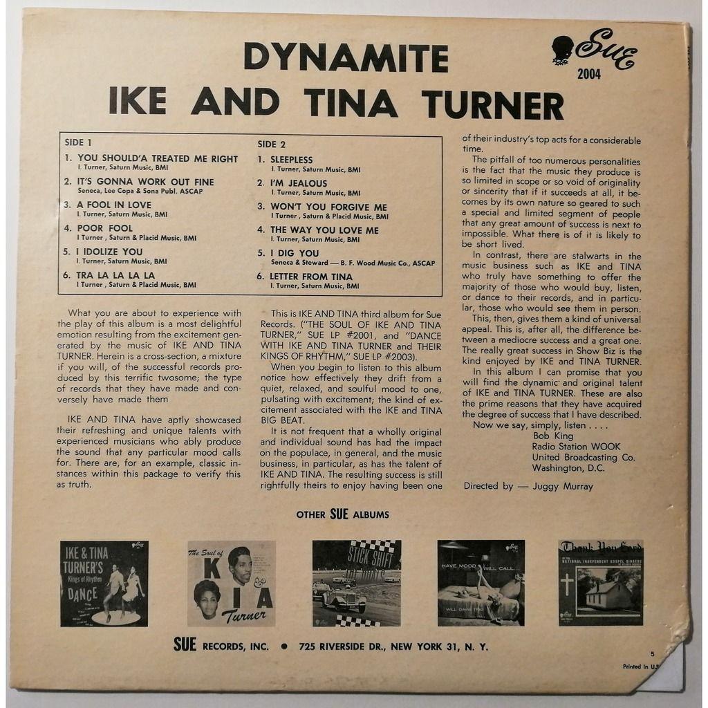 Ike & Tina Turner Dynamite! (soul)