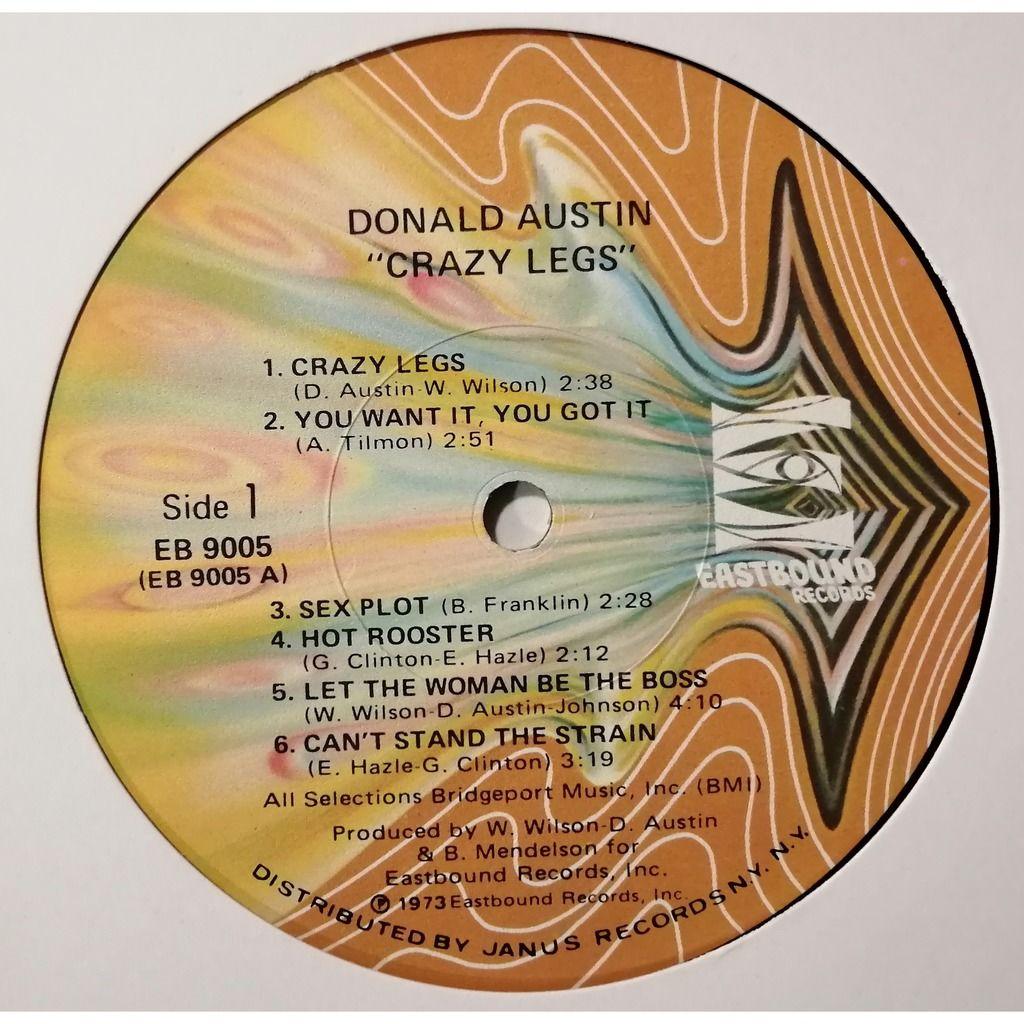 Donald Austin Crazy Legs (Funk)