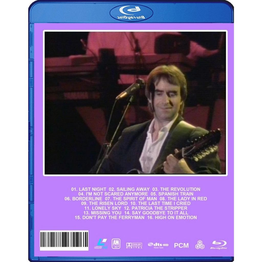 Chris De Burgh High on Emotion Live From Dublin Blu-Ray Worldwide Free Shipping
