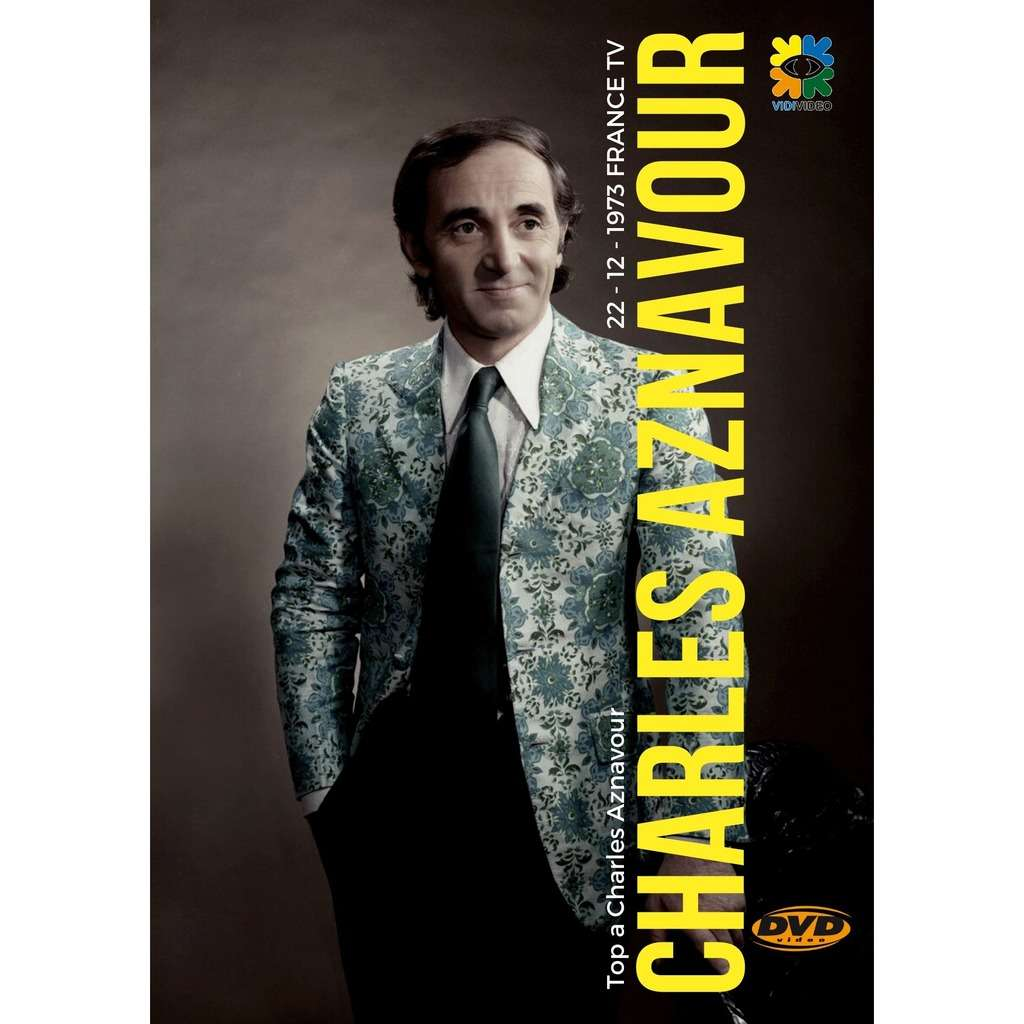 CHARLES ANAVOUR TOP 1973 WITH PETULA CLARK DVD CHARLES AZNAVOUR WITH PETULA CLARK FRANCE TV 1973 DVD