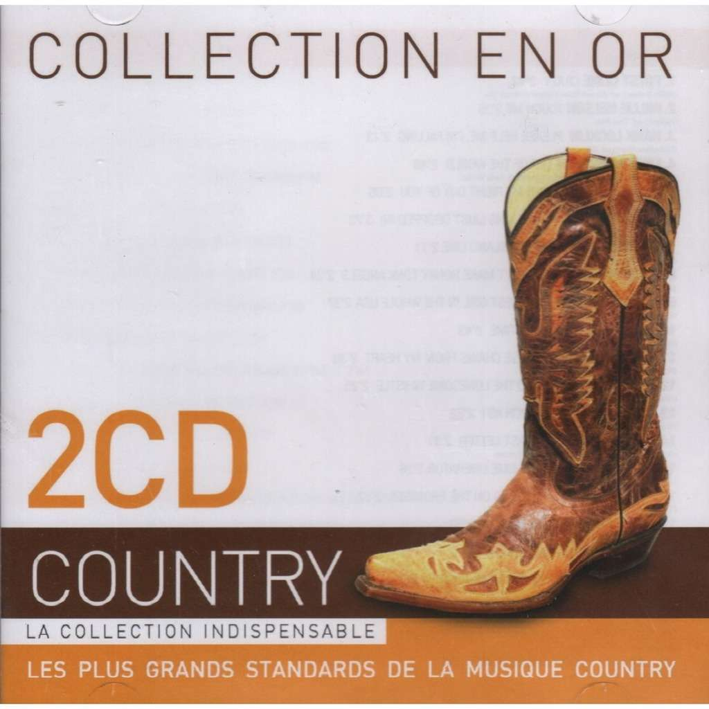 various artists collection en or - country