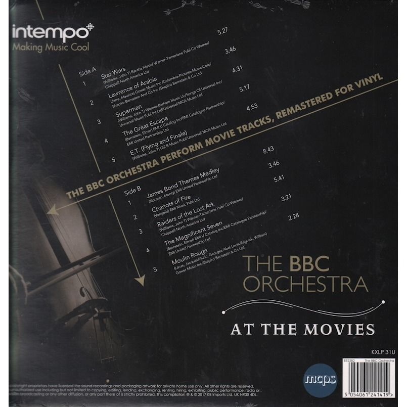 The BBC Orchestra At The Movies