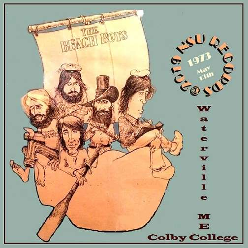 the beach boys LIVE COLBY COLLEGE IN WATERVILLE, ME 1973 MAY 13th LTD 2 CD