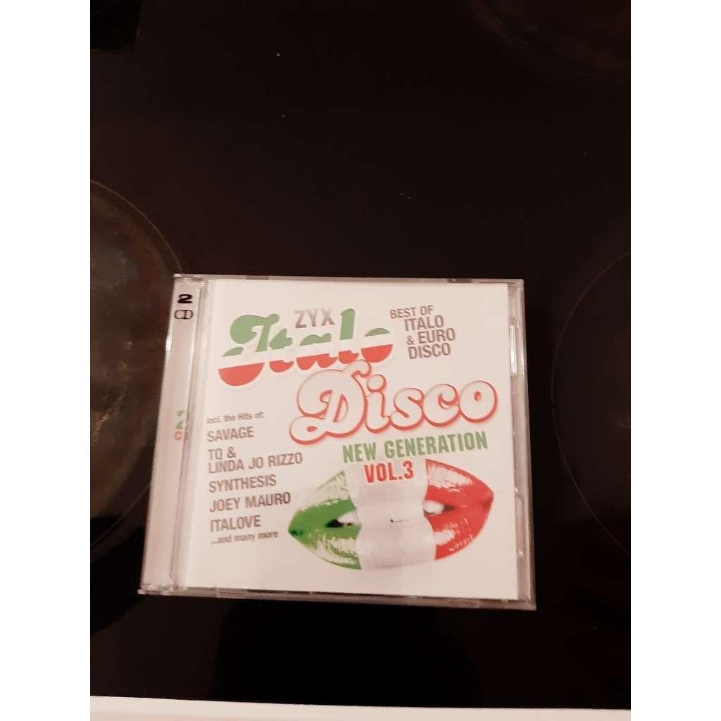 zyx italo disco new génération vol 3