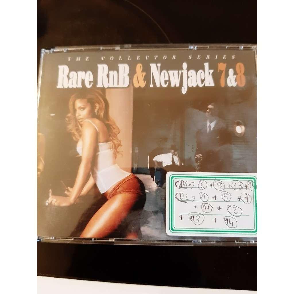 rare rnb and new jaclk vol 7 et 8 (coffret 4cds )