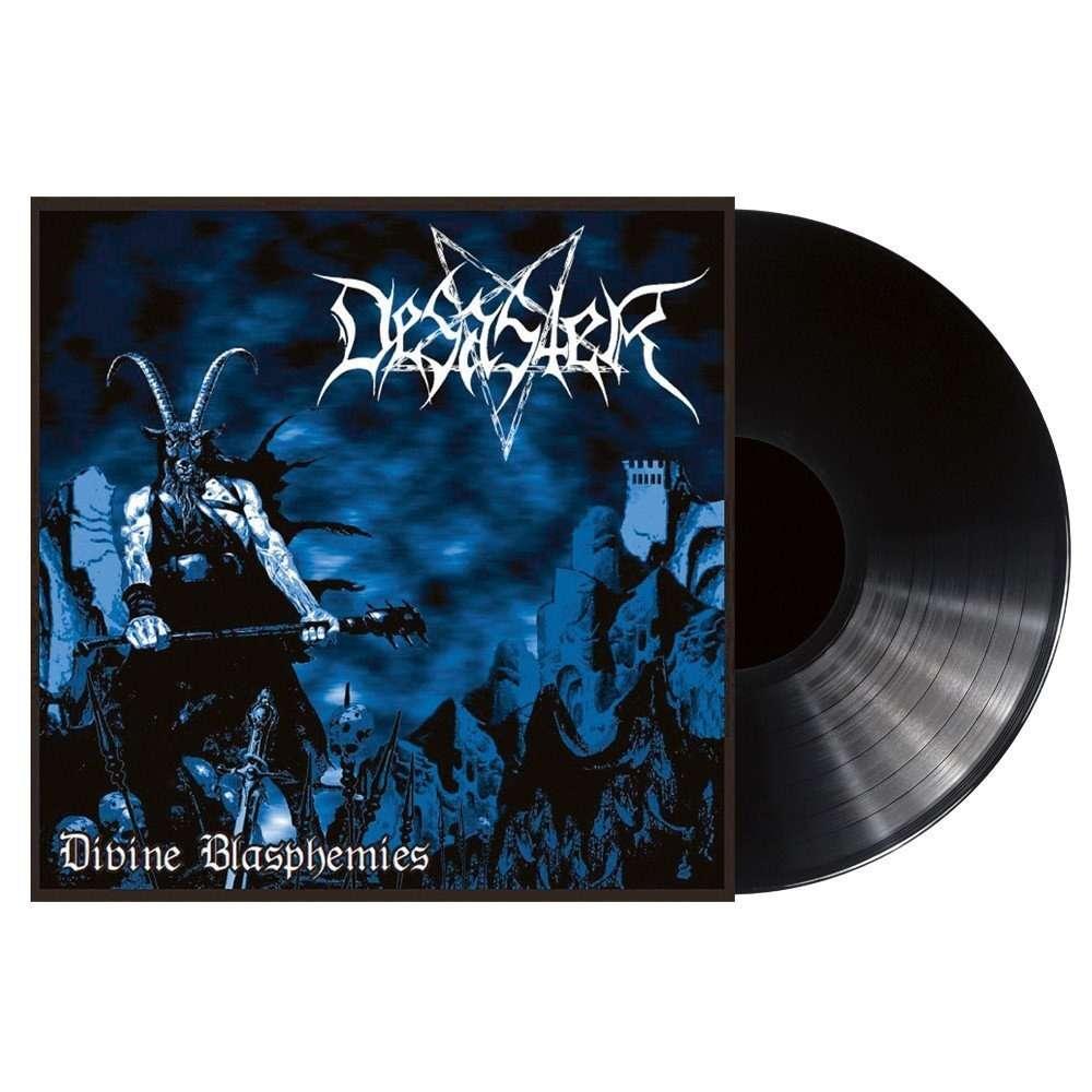 DESASTER Divine Blasphemies. Black Vinyl