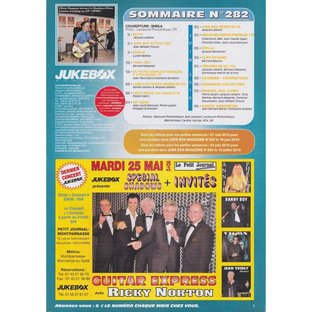 divers artistes - various artist jukebox n° 282