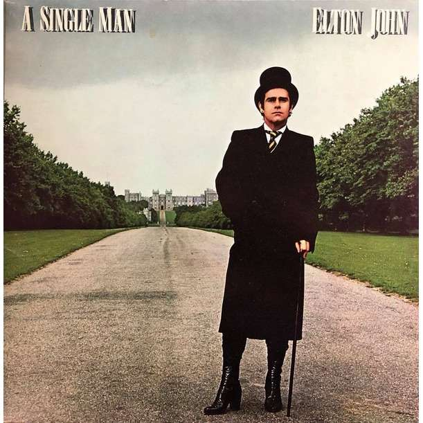 Elton John - A Single Man (LP Album Gat) Elton John - A Single Man (LP Album Gat)