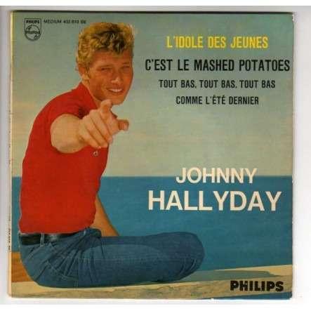 HALLYDAY JOHNNY L'IDOLE DES JEUNES + 3 - LANGUETTE