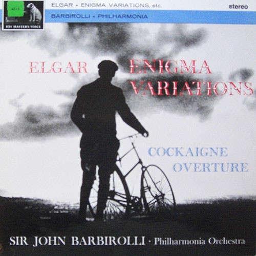 Sir Edward Elgar / Philharmonia Orchestra Conducte Enigma Variations etc.